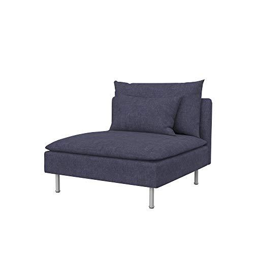 Soferia - Funda de Repuesto para IKEA SÖDERHAMN (1 Asiento)
