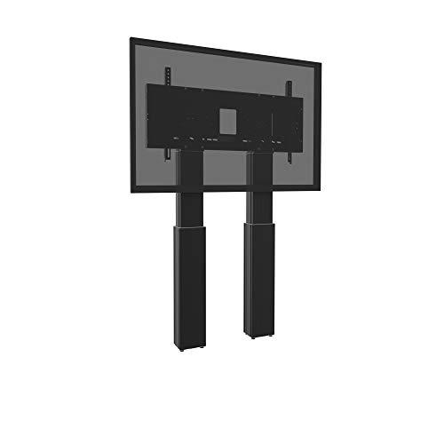 celexon Soporte motorizado para displays Expert - para TVs/Pantallas de 70''- 120' - Carga soportada máxima de hasta 250kg - Medidas: 128,5 x 15,5 x 151 cm - 50 cm Hub - Negro