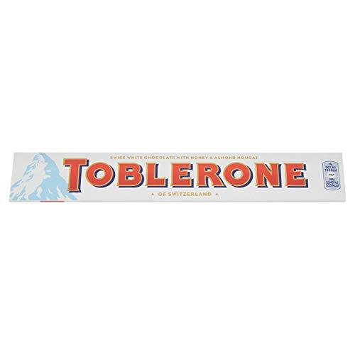Toblerone, Cioccolato Svizzero Bianco, 100 g