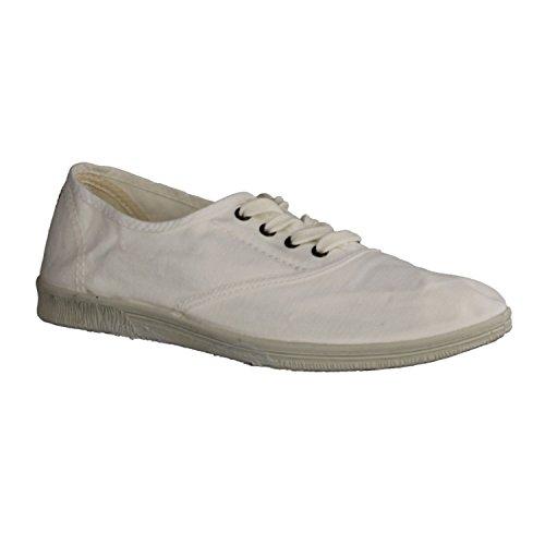 Natural World Eco 612 Damen Sneaker Weiss 505 , Größe:39;Farbe:weiß