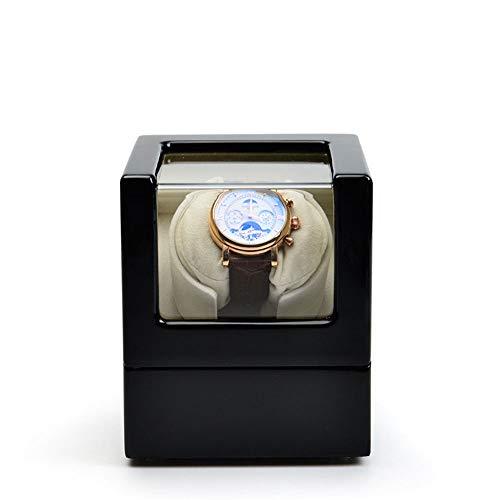 ZoSiP Ecrin Acrylique Coffret Piano Peinture Montre mécanique Boîte Automatique Shaker Haute Qualité (Color : Black, Size : S)