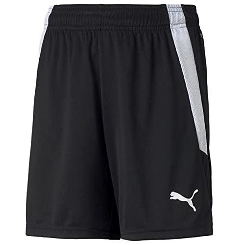 Puma 4063699148923 teamLIGA Shorts Jr Pantaloncini Bambino, 152, Puma Black/Puma White