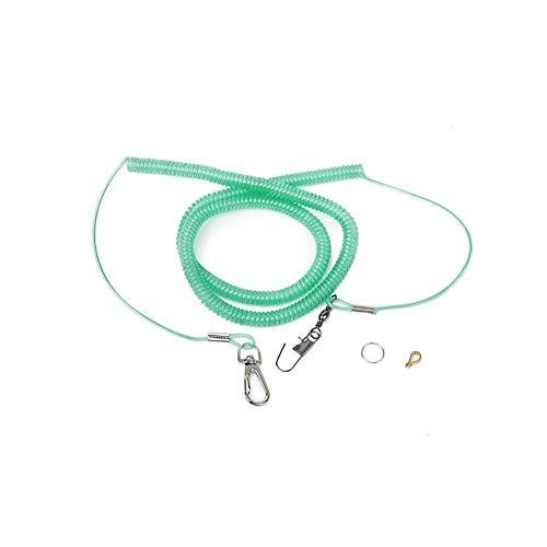 Romote Papageien-Vogel-Leine-Kits Anti-bite Flying Training Seil Vogelzubehör Vogelbedarf 20ft zufällige Farbe