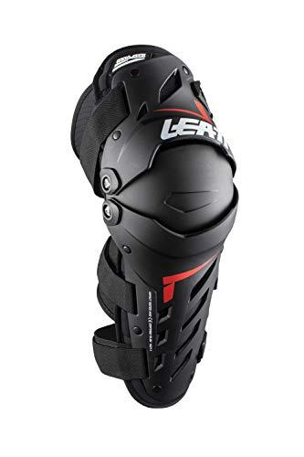Leatt Unisex-Erwachsene Knie- und Schienbeinschutz, Doppelachse, 1 Pack (Schwarz, S/M)