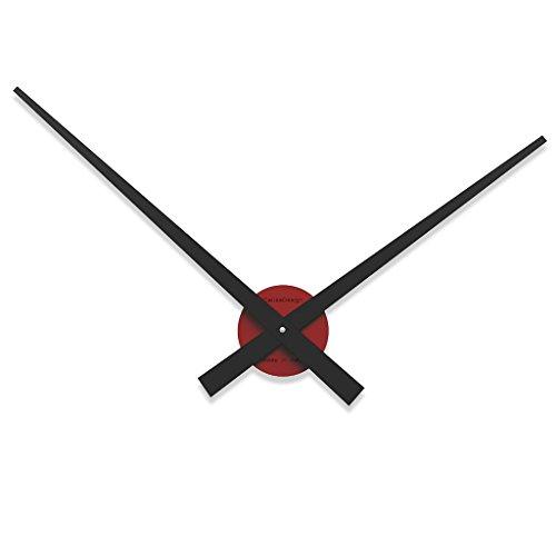 calleade Sign Botticelli Reloj de pared, personalizable, grande, berenjena