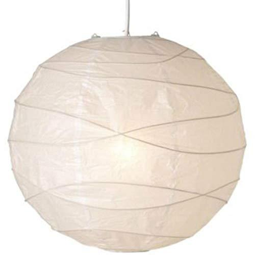 LLine 1PCS White Paper Laternen Chinesisch Japanisch Runde Papierball Hochzeitsfeier Home Decoration DIY, Milch Weiß, 16inch
