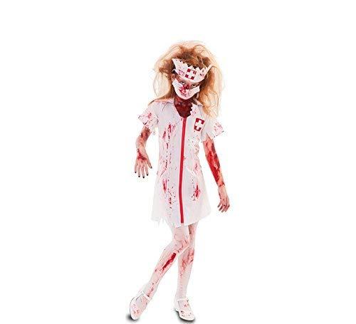 fyasa 706498-t02 Zombie Verpleegster Kostuum, Medium