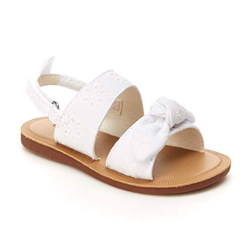 OshKosh B'Gosh Girls Lotty Sandal, White, 8 Toddler