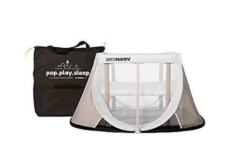 Cuna de Viaje para bebé Aeromoov plegable e instantánea con colchón configurable a dos...
