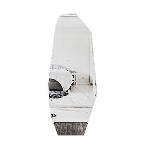 Espejos de pared Espejos De Cuerpo Entero Irregulares Formas Especiales Espejos De Cuerpo Entero para Dormitorios Espejos De Vestidor para El Hogar