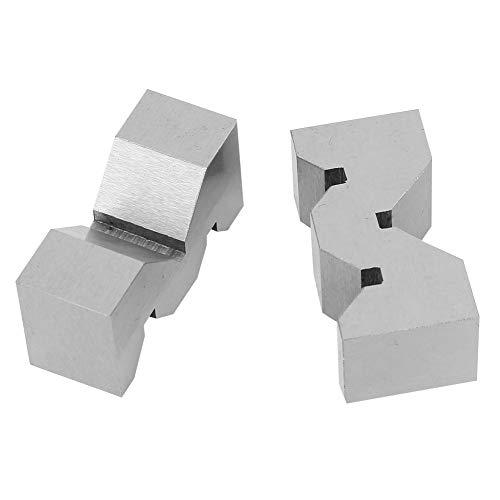 V-Block Carbon-Samfox Hochgenauer Stahl V-Block AL1081 V-Block KMV-W1 V-Block 2St. Für Plattformmessung
