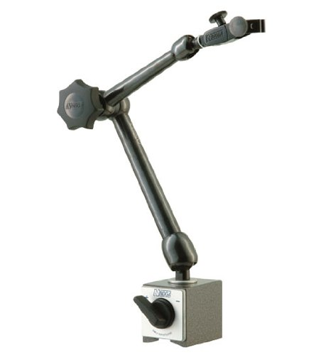 Noga MG71003 Dial Gage Magnetic Base w/Metal Fine Adjust & Univ Clamp