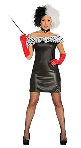 Fiestas Guirca Cruella Costume Sexy