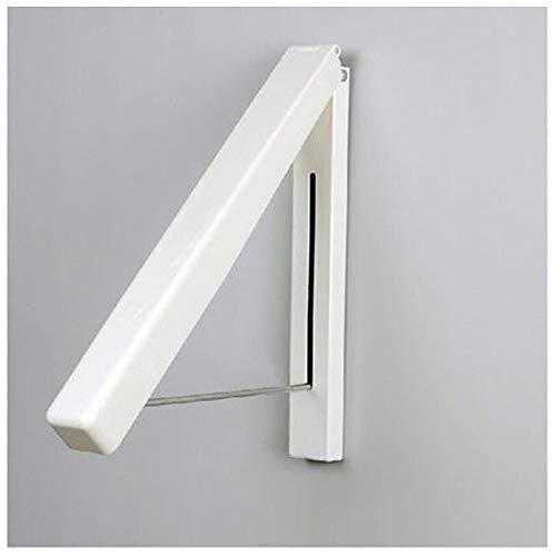 Multifunctionele Fashion Muur Hangers Folding Droogrek Kapstok Living Room Furniture Kapstok (Color : White)
