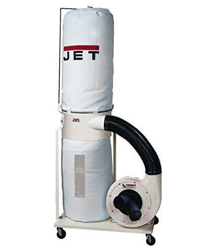 Jet DC-1100VX-BK Dust Collector 1.5HP 1PH 115/230-Volt 30-Micron Bag Filter Kit