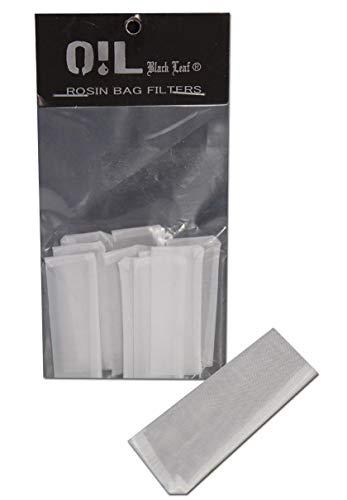 Black Leaf 10 Stück Oil Rosin Press Bag Filter-Beutel - Größe und Maschenweite wählbar (50x20mm, 120µm)