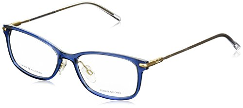 Tommy Hilfiger Damen TH 1400 R21 53 Sonnenbrille, Blau (Blue Rose Crystal)