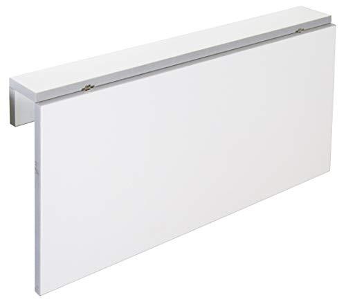 Miroytengo Mesa Cocina Plegable Blanca Vera diseño Moderno abatible Funcional suspendida Pared 80x10-50