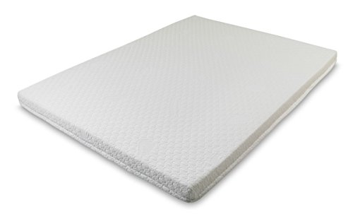 Snug 5 cm / 2' inch Memory Foam Mattress Topper with Coolmax Removable Washable Cover, Single 3ft Size 90 x 190 cm