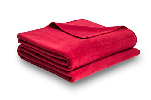 Zoeppritz Soft-Fleece Decke 110x150 Strawberry