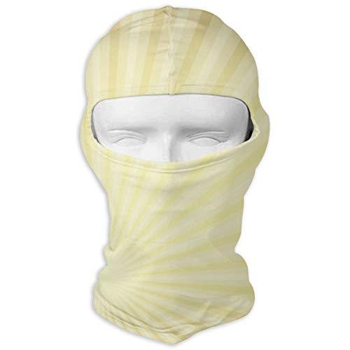 Sitear oud papier met goud doorschijnende stralen volledig gezicht masker kap hals warm voor mannen en vrouwen outdoor sport winddicht zonnebrandcrème aangepast