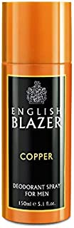 English Blazer Copper Body Spray for Men, 150 ml