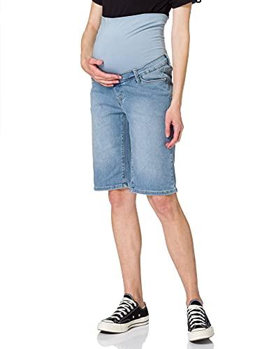 ESPRIT Maternity Damen Bermuda Denim OTB Jeans-Shorts, Lightwash-950, 44
