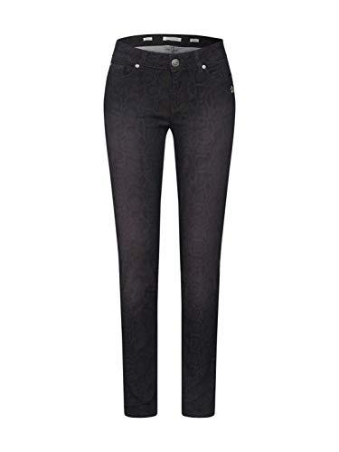 Glücksstern Damen Jeans Melina schwarz 27