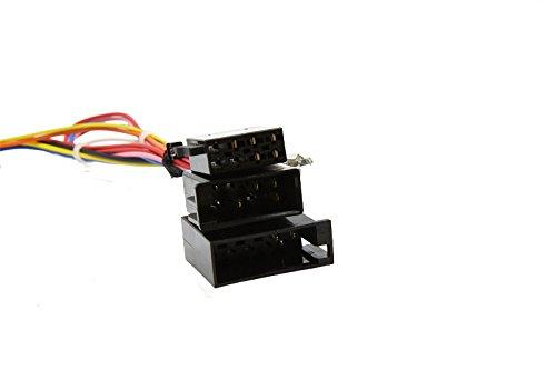Caraudio-Systems Kabel set voor CAN-Bus Interface CX-401 geschikt voor voertuigen met 10-pins ISO connector