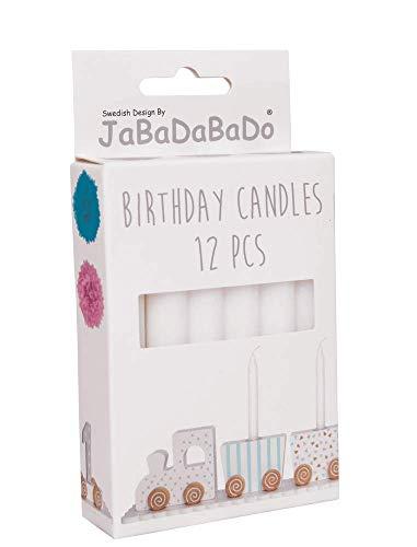 JaBaDaBaDo 12 Kerzen Geburtstagszug aus Schweden