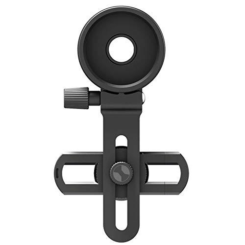 beijieaiguo Teléfono Celular Adaptador De Montaje Universal Telescopio Binocular Microscopio Monocular De Clip con El Ajuste De Montaje del Anillo Soporte Telescopio