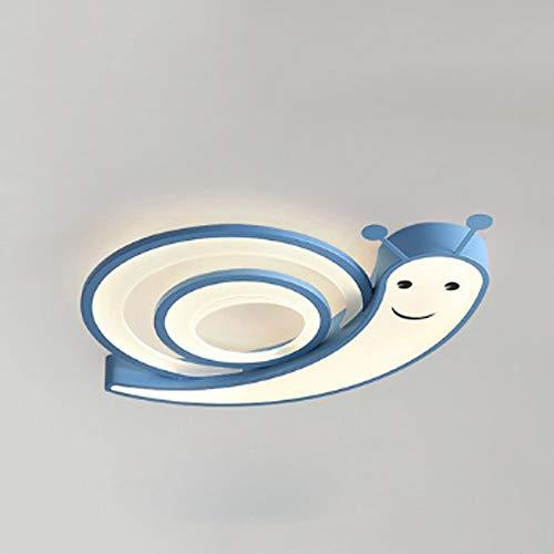 DTTDV Lámpara de Techo de Dormitorio LED Caracol lámpara de Techo de Dormitorio de niños lámpara de Techo de habitación de niños iluminación de habitación de bebé (Color : B)