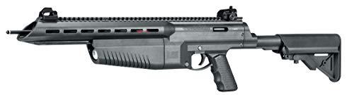 Umarex AirJavelin Arrow Gun Air Rifle with 3 Carbon Fiber Arrows, Black
