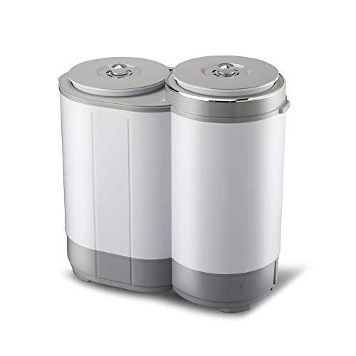 SCDSRQ Hogar Moda Compacto antibacteriana de Ahorro de energía de Gran Capacidad Simple Silencio Operación Volver incrustación Diseño Double Barrel (62 * 60.5 * 31.5cm) (Color : A)