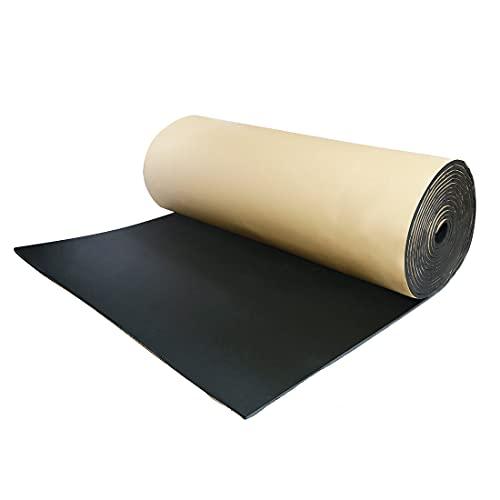 "uxcell 394mil 10mm 32.29sqft Car Floor Tailgate Sound Insulation Deadener Mat 118"" x 40"""