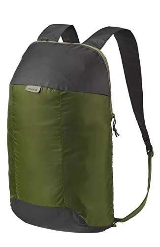 QUECHUA Ultra Compact Inklapbaar 10 Liter Klein Wandelen Rugzak / Rugzak voor Camping Outdoors Festivals - Handige Reistas