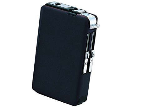 Prestige Import Group Cigarette Case with Built-In Lighter (2 Style Flames)