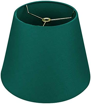 Small Lamp Shade Alucset Barrel Fabric Lampshade for Table Lamp and Floor Light 6x10x7 5 Natural product image