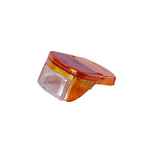 Zündapp Rücklichtglas orange rot für R 50 C 50 Sport KS Combinette 50 Typ 510 516 561 Rücklicht Glas