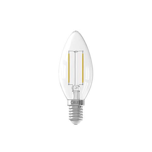 Calex Bombilla de vela LED filamento B35 E14 2W 200 lúmenes
