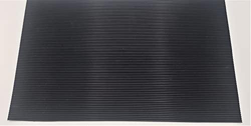 Gummi Schubladeneinlage für GARANT (Hoffmann-Group) Gridline Werkstattwagen (Modelle siehe Beschreibung), Werkstattwagenzubehör, rutschfestes Gummi, Maße: 400x500mm, Feinriefenmatte