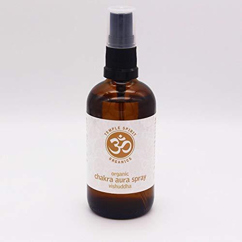 Temple Spirit Vishudda Bio Chakra Aura Spray (100 ml) Menthe poivrée