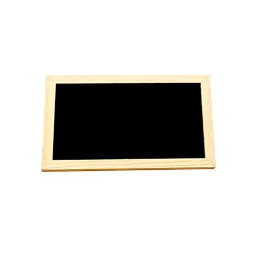 ultnice Tafel Anhänger Holz von nur einer Seite der Platte Nachrichten Anhänger mit Kette Anhänger für Kunst der Wand Kunsthandwerk Dekoration von Haus 30x 20cm