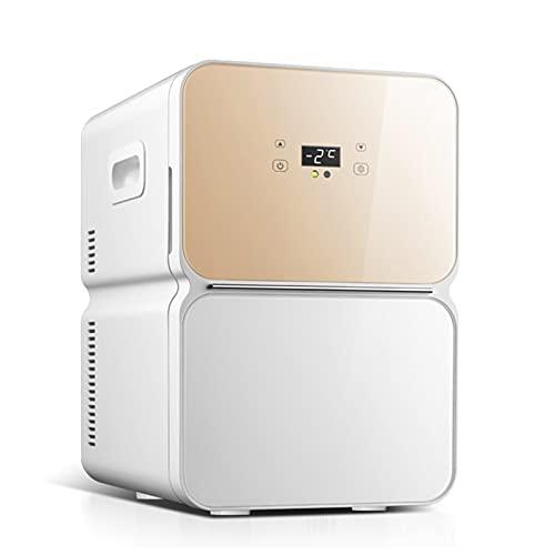 Mini Nevera Mini Refrigerador De Una Puerta, Frigorífico Compacto con Fuente De Alimentación AD/CD, Utilizado para Dormitorio, Viajes En Coche, Camping. (Color : 220v, Size : Style3)