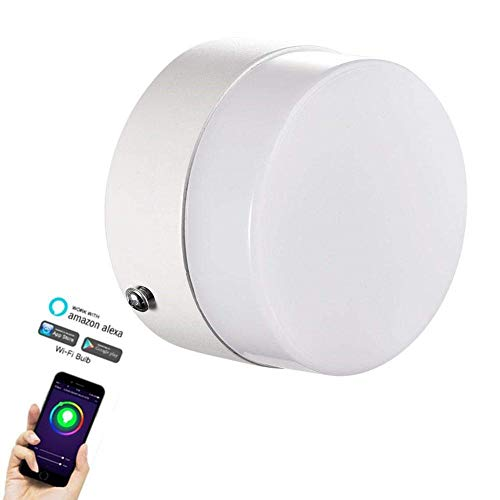Color:White Kaemma Sonoff Touch Wall WiFi Interruptor de luz Panel de Vidrio Touch LED Lights Switch Smart Home Remote Switch Control para Smart Home Device