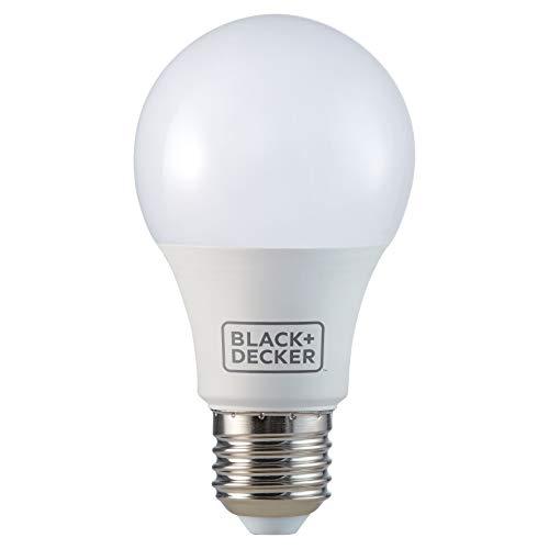 Lampada LED Bulbo Black&Decker, Branca, 11W, Bivolt, Base E27