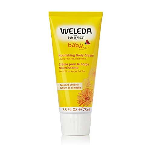 Weleda WL-110 Crema per il corpo Baby Calendula, 75ml, 1 pezzo