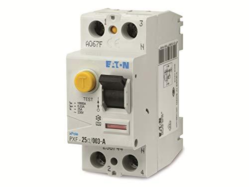 Eaton 236744 Fi-Schutzschalter 2-polig 25A 30mA PXF-25/2/0,03A