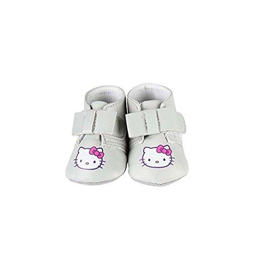 Hello Kitty - Chaussures à nœud - bébé Fille - Gris