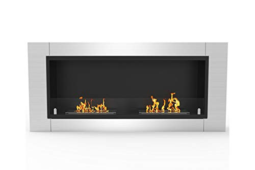 Review Regal Flame Elite Fargo Ventless Bio Ethanol Recessed or Wall Mounted Fireplace